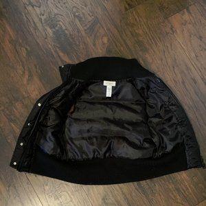 Guess Men's Small Black Puffer vest